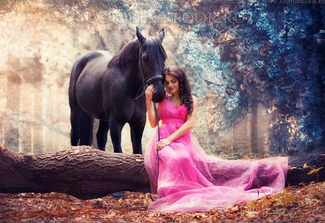 Фотосессия с конем