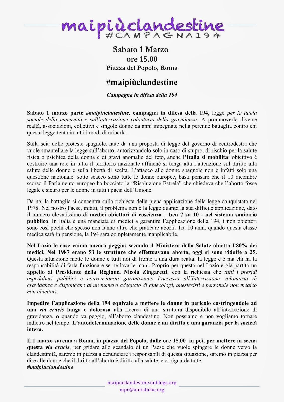 http://maipiuclandestine.noblogs.org/