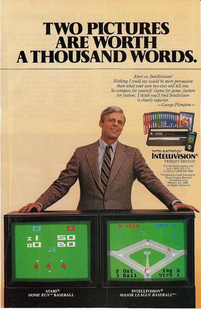 Video Game Console Smackdown Atari 2600 Vs Intellivision