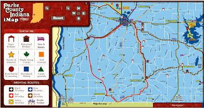 Covered Bridge Festival Indiana Map.Susan S Blog Parke County Covered Bridge Festival