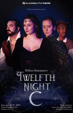 "Tickets for ""Twelfth Night"" on sale now!"