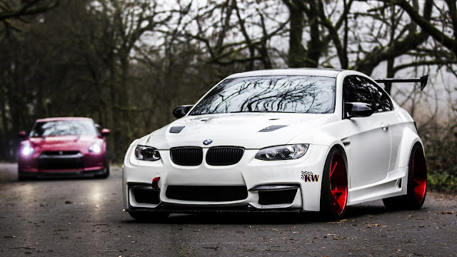 Wallpapers full hd BMW E92 M3 Blanco