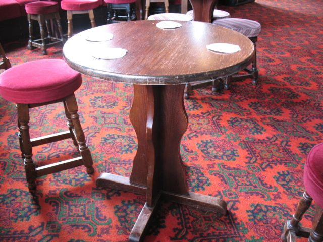 The tudor medieval jacobean queen anne dollhouse for Table 3 6 usmc
