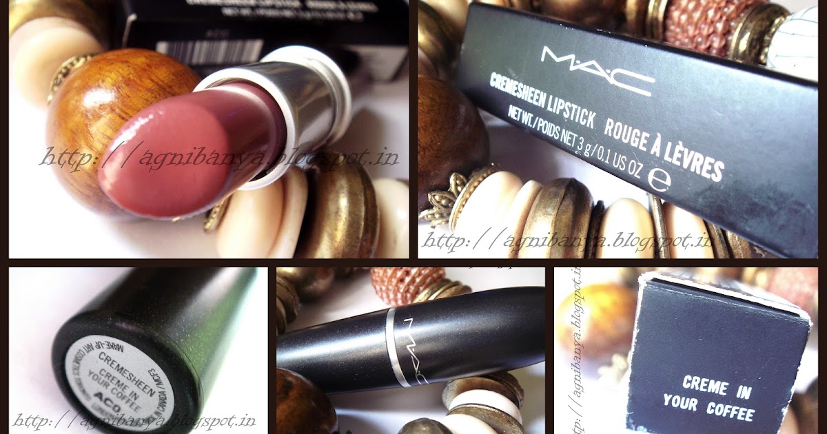Love Thy Red: MAC Cremesheen Lipstick Crème In your Coffee ...
