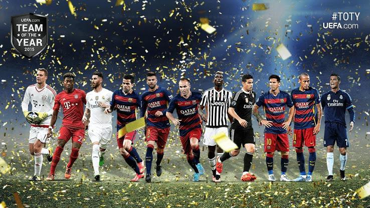 uefa team des jahres