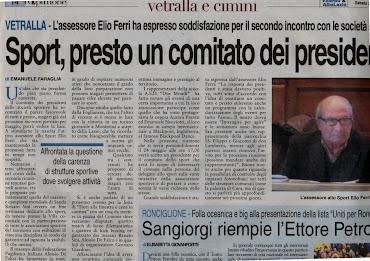 L'OPINIONE DEL 21.04.2012 DI Emanuele Faraglia