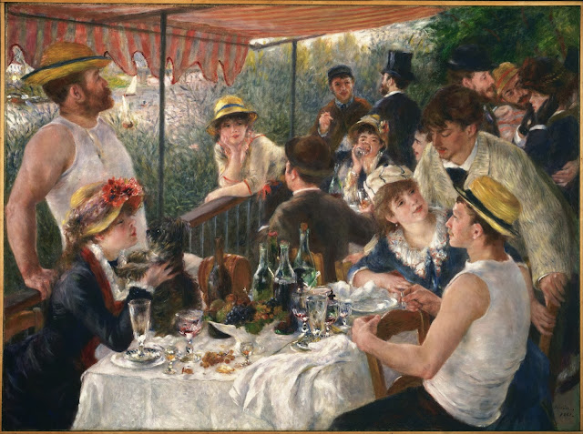 "Picture of ""Luncheon of the Boating Party"" by Renoir, 1881"