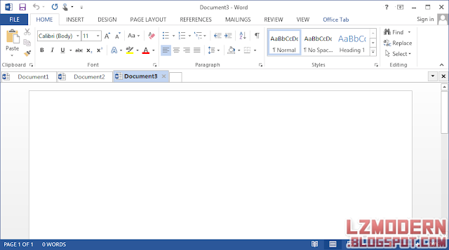 Office Tab Enterprise v9.60 Full Version + Serial Number