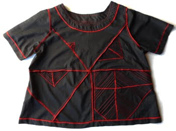 Tutorial for Aurana Top with pintuck embellishments