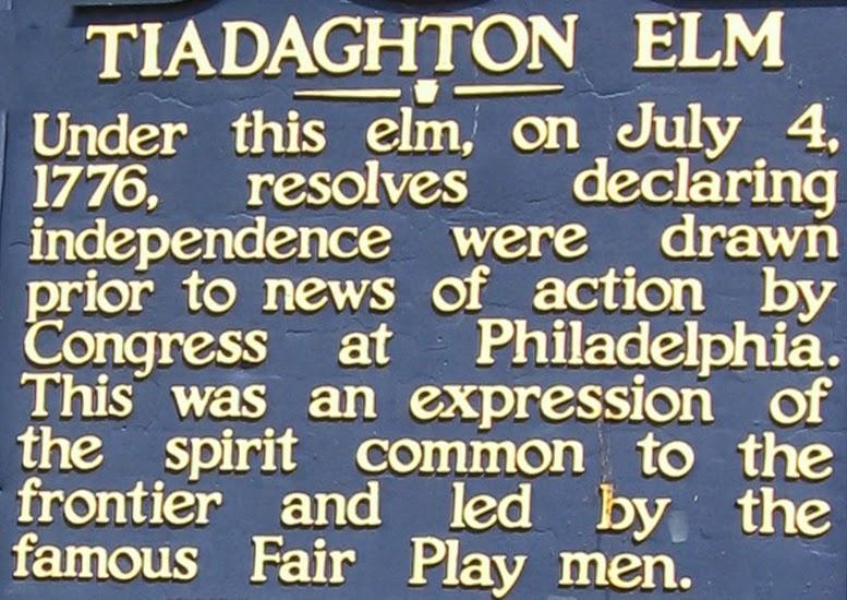Pine Creek Declaration of Independence