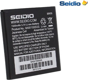 Seidio Innocell 1500mAh Replacement Battery for Samsung Captivate