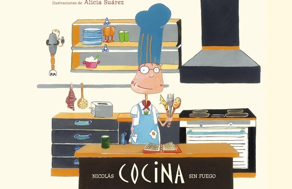 La biblioteca de amelia libros para aprender a cocinar - Cocina de fuego ...