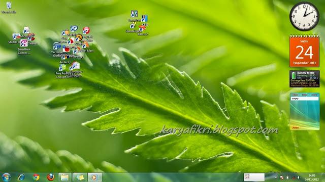 tampilan desktop fikri thufailiy (wallpaper dan yang lainnya) 2