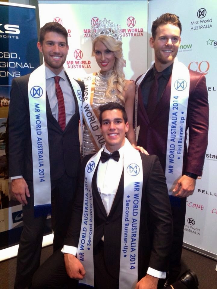 Nick Kennett wins Mister World Australia 2014
