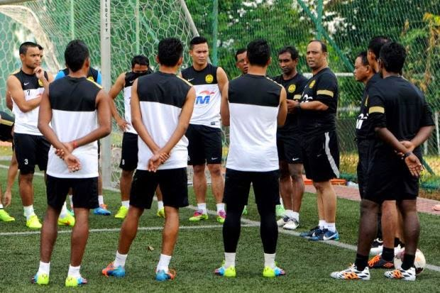 Bola sepak Malaysia kini sebaris dengan Bangladesh ranking jatuh 11 anak tangga