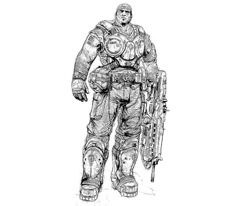 gear-of-war-3-marcus-coloring-pages