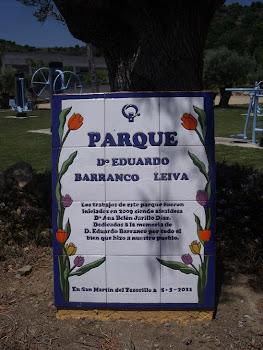 PARQUE LAS ALONDRAS DONDE SE RECUERDA A EDUARDO BARRANCO LEIVA