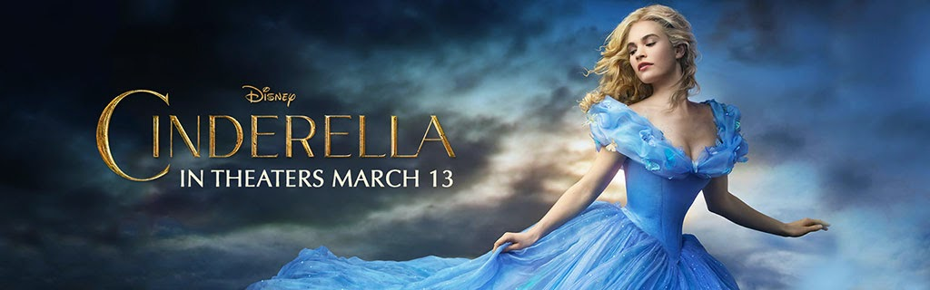 Disney's Cinderella (2015) Movie Banner