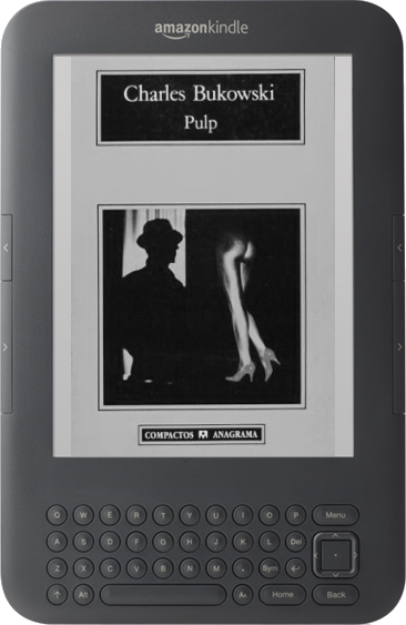 PULP by Charles Bukowski -1st printing color title-page- black sparrow 1994 FINE