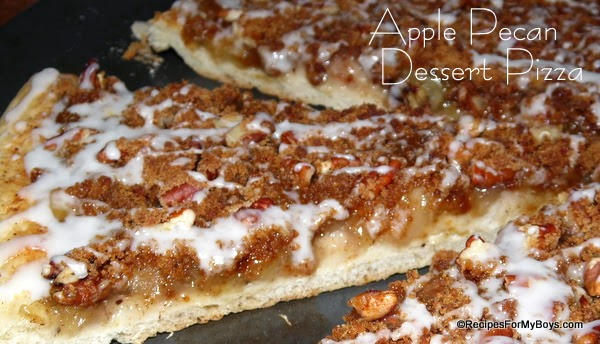 apple pecan dessert pizza 187 the official of america s favorite frozen dough