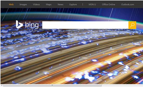 Mesin pencarian Bing