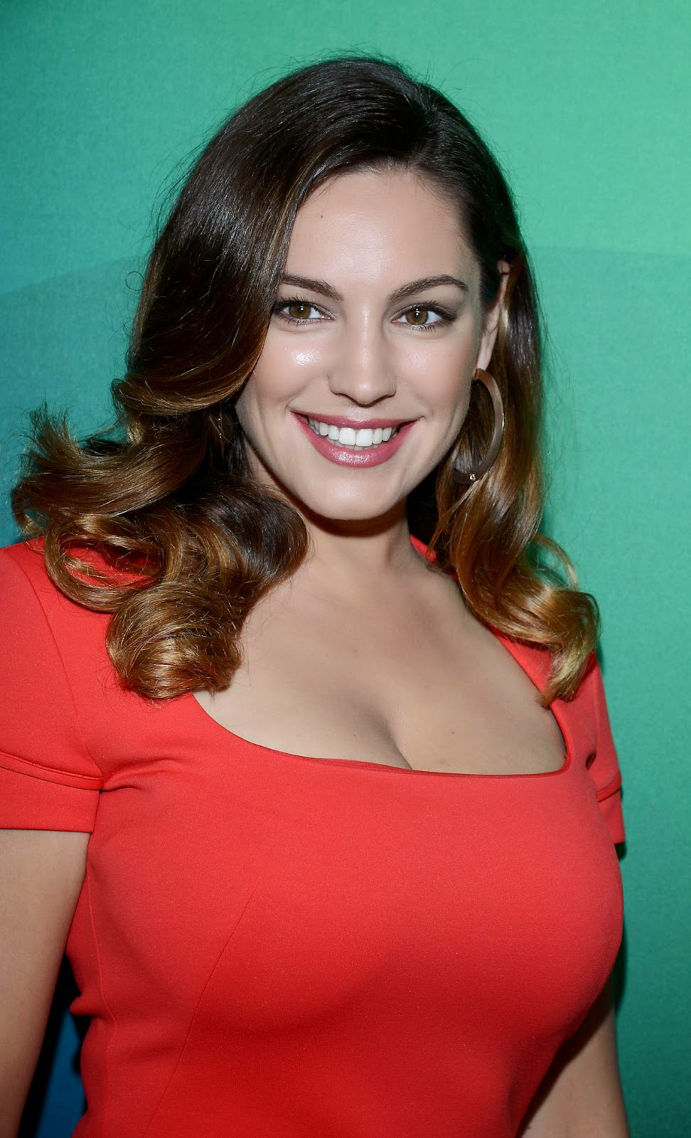 Kelly Brook - Hot Cleavage Show Photos in New York