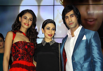 Showbiz, Bollywood, Film, Actor, Actress, Hasleen Kaur, Karle Pyaar Karle, Karisma Kapoor, Shiv Darshan, Movie, Hindi, Mumbai, India, Rajesh Pandey, Upcoming, Launch, Ceremony,