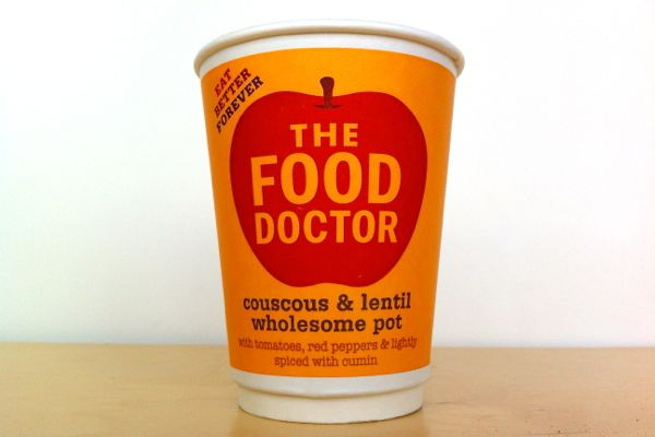 The Food Doctor Couscous and Lentil Wholesome Pot