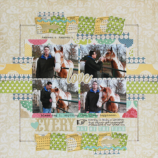 SRM Stickers Calendar Stickers Every Day Layout by Juliana Michaels