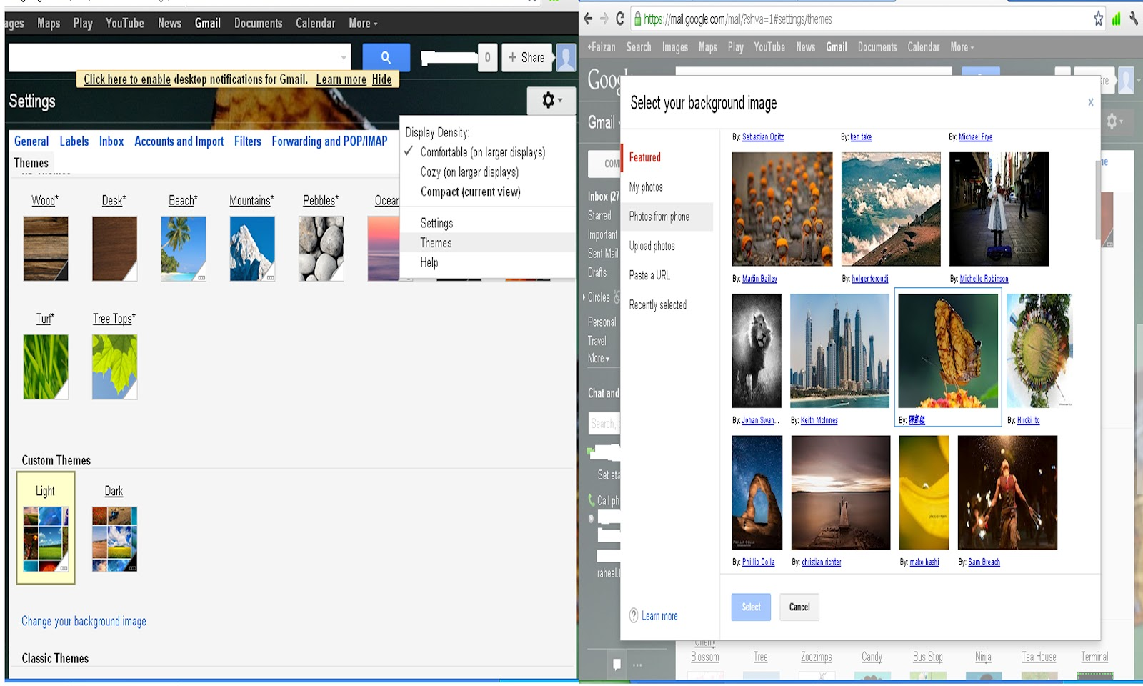 Love themes for gmail - Thats All About It