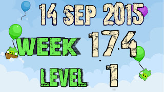 Angry Birds Friends Tournament level 1 Week 173