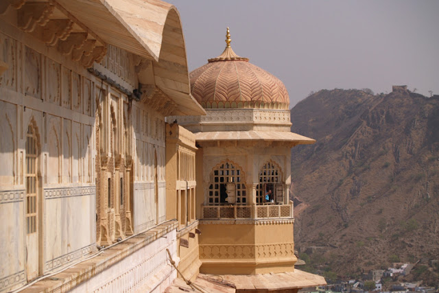 Front Facade of Amber Fort