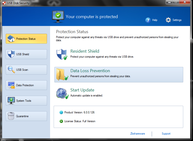 USB Disk Security 6.0.0.126 | Free Software Zone