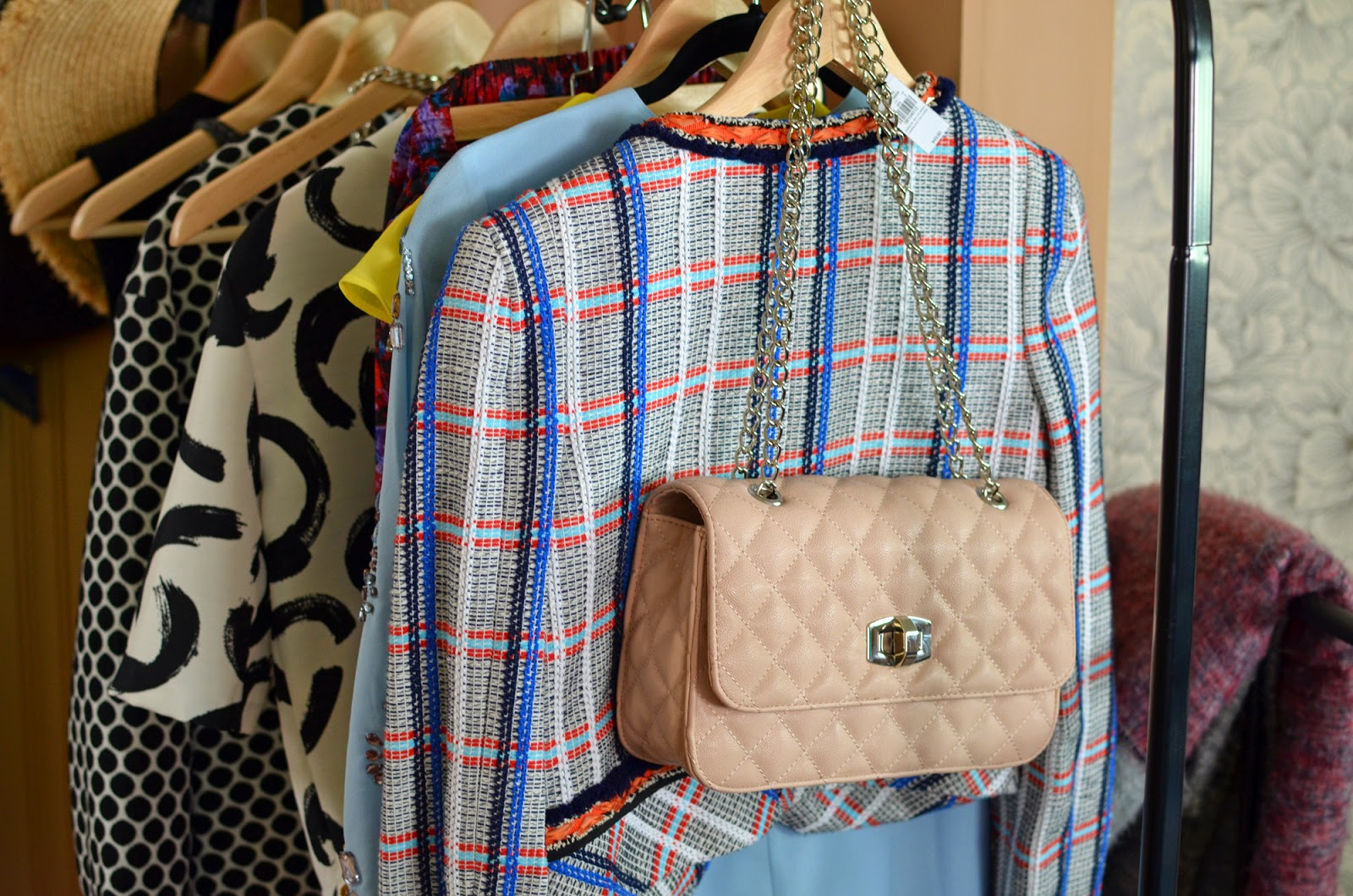 Express handbag chanel quilted chain strap shoulder bag haul fashion
