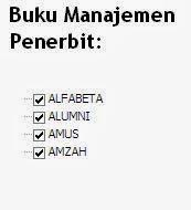 Buku Manajemen Penerbit Alfabeta, Alumni, Amus, Amzah Online Murah
