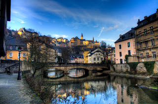 Luxembourg fromn the Grund