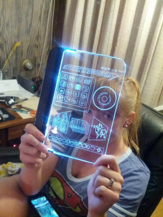 As For Props, I Got The Iron Man T Shirt From Think Geek. It Has The Arc  Reactor Light That Velcros Into The Chest And A Battery Pack That Attaches  At The ...