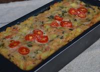 Torta de Abobrinha Magnífica (vegana)
