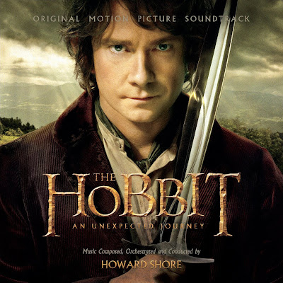 The Hobbit: An Unexpected Journey soundtrack front cover