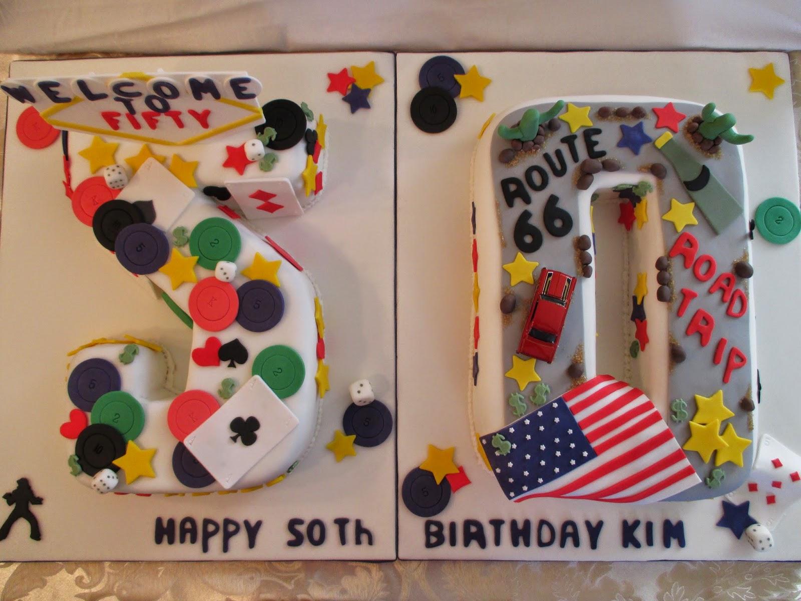 Viva Las Vegas A 50th Birthday Cake Sweet Treats By Kate