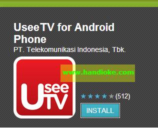 Galaxy Y (Young): Cara Mudah Menonton TV di Galaxy Y dengan UseeTV