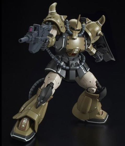 HG YMS-07A-0 Prototype Gouf Gundam The Origin MSD