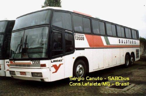13508 Liridas Marcopolo Paradiso G4 1150. Scania K 112 TL KTC-0708