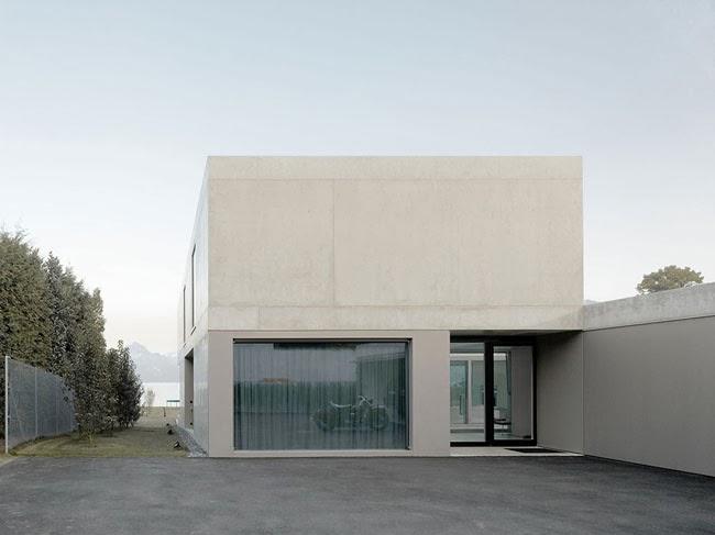Casa suiza minimalista minimalistas 2015 for Casa minimalista harborview hills