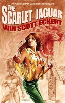 6 HARDCOVER COPIES LEFT! <br><i>The Scarlet Jaguar</i> <br>by Win Scott Eckert