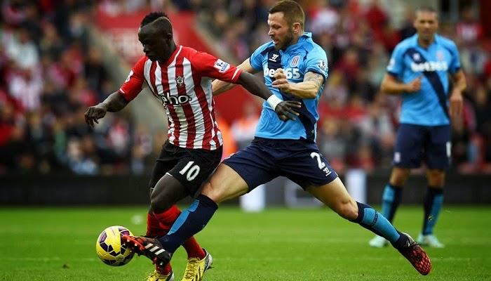 Stoke City vs Southampton en vivo
