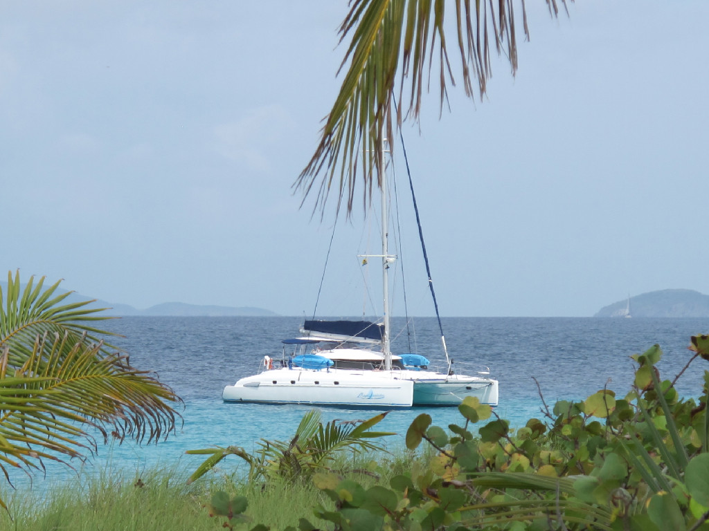 Magic Inspiration is a 46-foot Fountaine Pajot catamaran with an ...