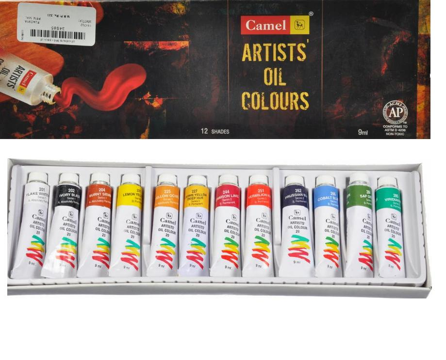 Art by pallavi talra oil painting for beginners first for Materials for canvas painting