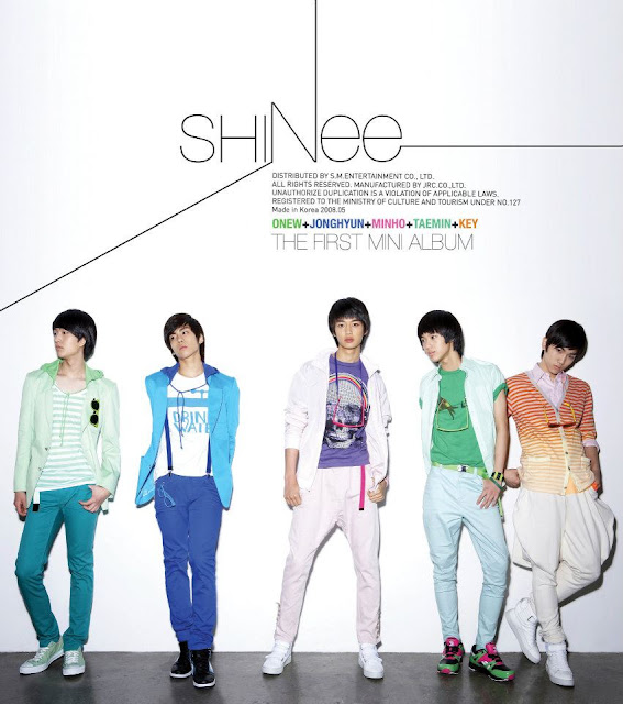 Shinee Replay album cover
