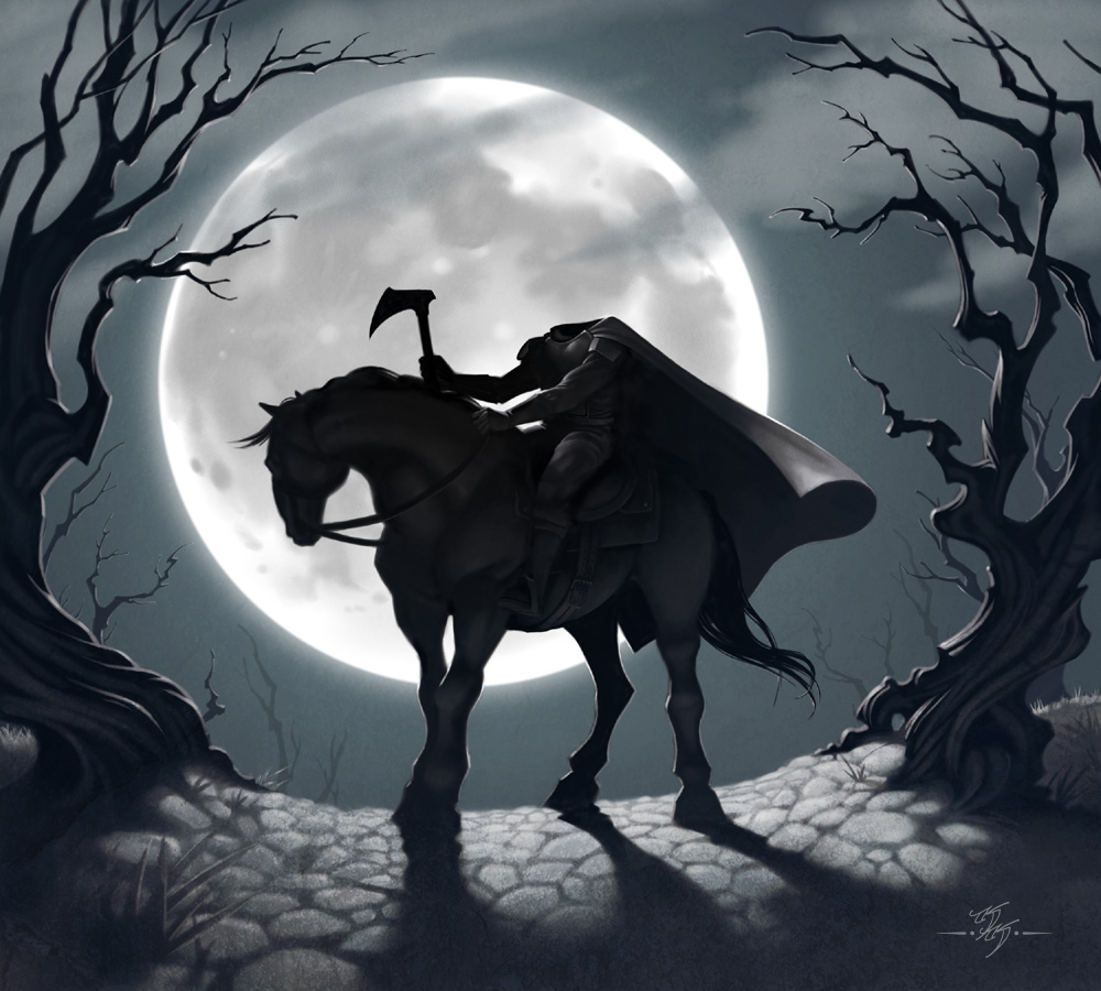 Classicbecky 39 s brain food legends of the headless horseman - Pictures of the headless horseman ...